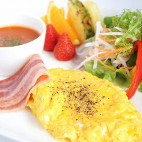 朝食PLATE