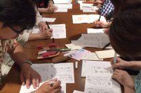 12月ペン文字ワークショップ<br /> 「お正月に手作りの箸袋で書」