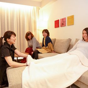 """In Room Massage""セラピスト貸切プラン"