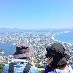 【旅の参考に】初心者にもオススメ!函館山ハイキング