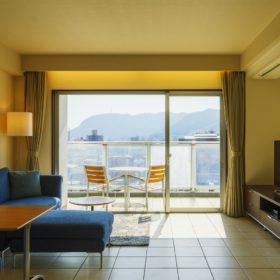 【素泊り】全室リビング・キッチン・ビューバス・バルコニー付き。フリープラン旅行にお薦め